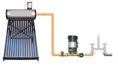 Unde se monteaza pompa pentru ridicarea presiuni in panoul solar?